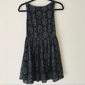 Xhilaration | NWOT Sleeveless blue lace dress